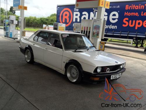 BMW E28 Turbo - 6cyl 3 5L, Megasquirt, Brembo, M535i Kit, M5 Diff, Rare!