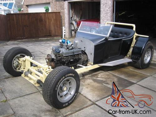 Model T Bucket Hot Rod Classic Dragster Rolling Chassis
