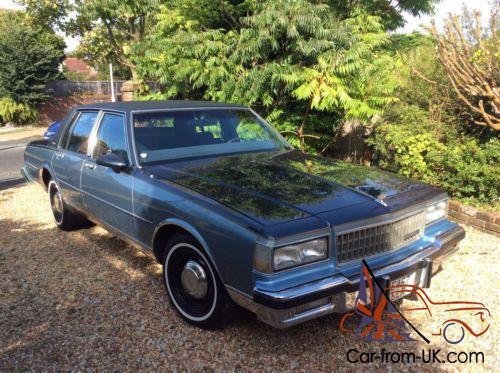 1987 Chevrolet Caprice Classic Brougham