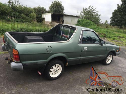 Mv 1 For Sale >> 1990 Subaru 284 4WD MV 1.8 PICK UP Brumby Brat, LOW MILES £4500 Classic