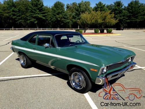 1971 Chevrolet Nova Rally Nova Coupe