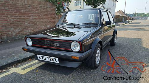 Volkswagen Golf Gti Mk1 1982 Immaculate Condition Low Miles For Sale
