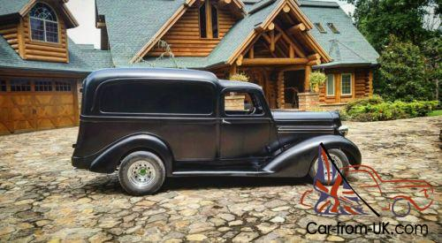 1936 Plymouth Humpback panel Delivery