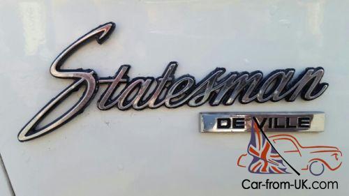 HQ Statesman Deville LS1 Conversion Original Motor Supplied