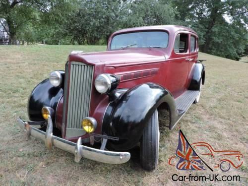 1937 Packard 1083 Four Door Sedan