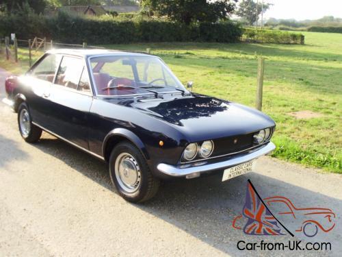 Fiat 124 Coupe >> Fiat 124 Sport 1608cc Coupe