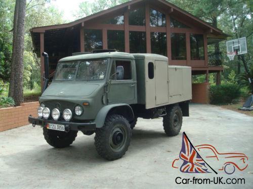 1964 Mercedes-Benz 404S UNIMOG 404S Overland Camper Gas