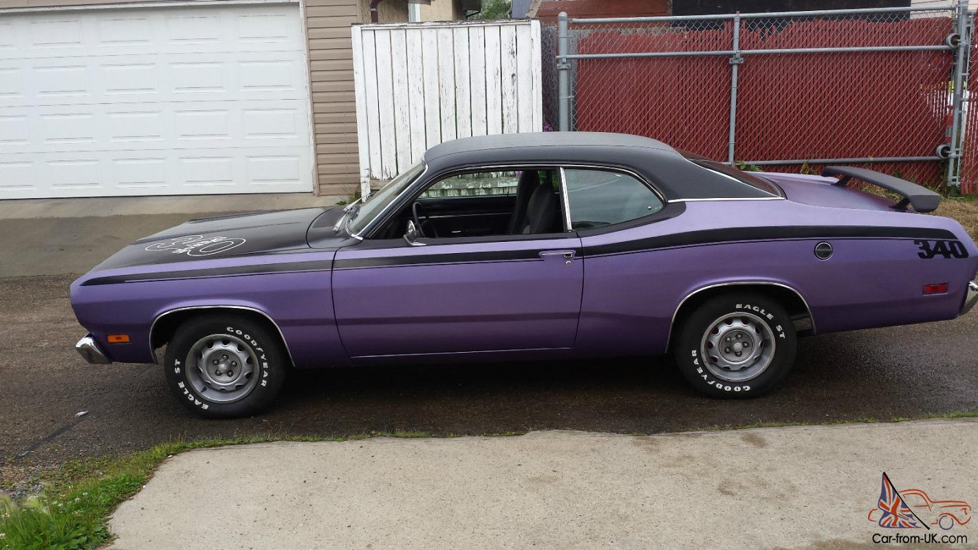 Plymouth: Duster 340