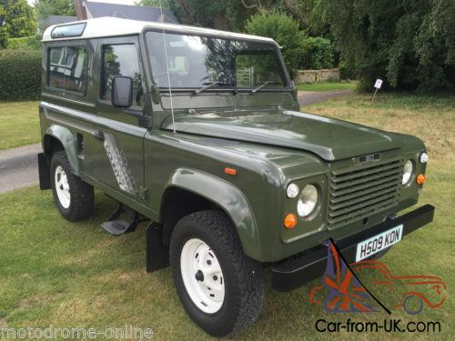 Land Rover Warranty >> Collector Quality 1990 Land Rover Defender 90 V8 Csw 6 Seater Warranty