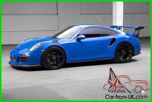 2016 Porsche 911 GT3 RS , Voodoo Blue (Paint,To,Sample)
