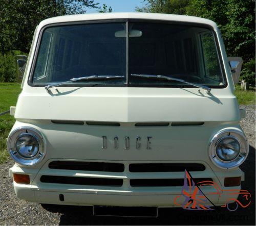 1966 Dodge A100 Custom Sportsman Van not VW