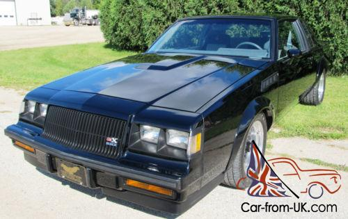Buick Grand National Gnx For Sale >> 1987 Buick Grand National Gnx 075