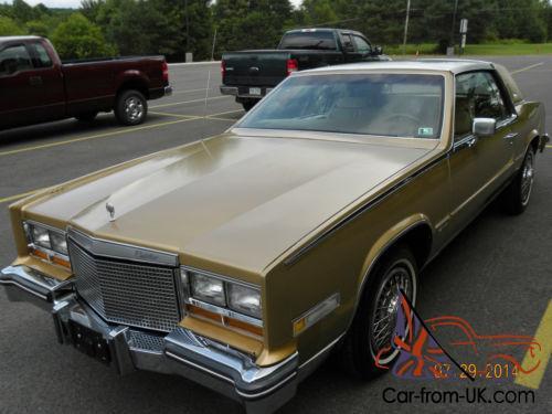 1981 cadillac eldorado car from uk com