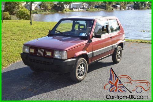 Fiat Panda 4x4 >> 1987 Fiat Panda 4x4 1987 Fiat Panda 4x4 4wd Off Road