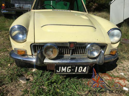 Rare Rare MGC GT 1969 3 Litre Automatic Nice Original Condition FOR  Restoration in NSW