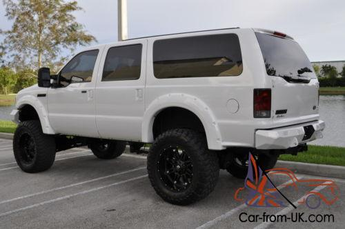 2005 Ford Excursion Eddie Bauer 4x4 Lifted Bullet Proofed Diesel