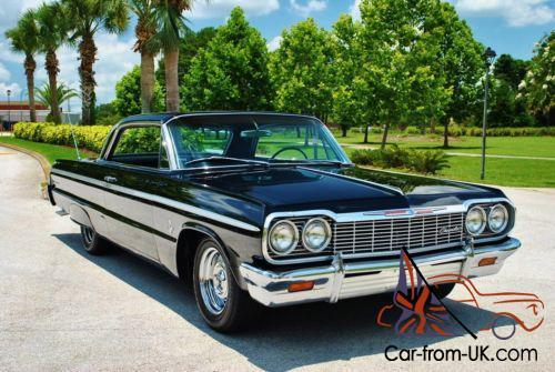 1964 Chevrolet Impala Ss Rare 409 Big Block Buckets Console Factory A C