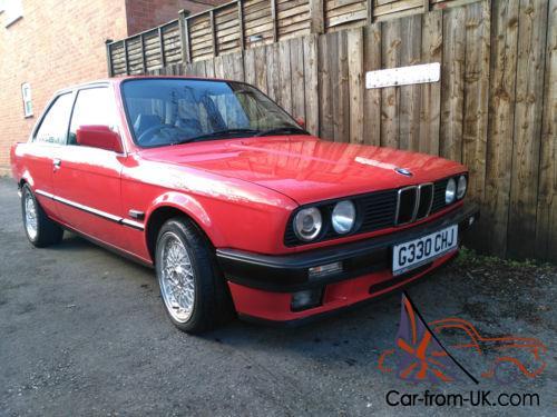 Bmw E30 318i - 1990 - 2 Door - Manual - Red