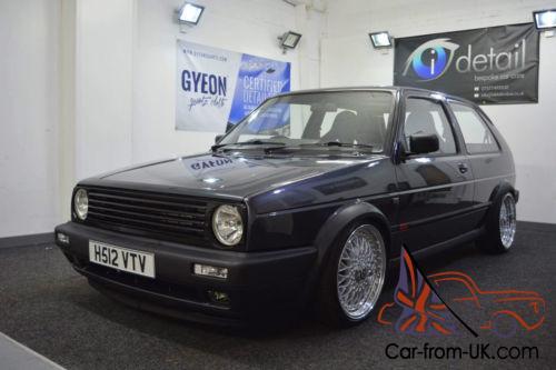 1990 VW GOLF GTI MK2 20V TURBO FULL RESTORATION 100 PICS AUDI TT CONVERSION  VR6