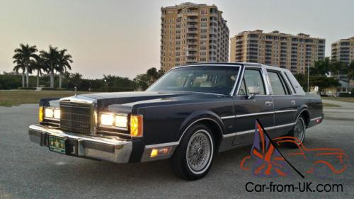 1989 Lincoln Town Car >> 1989 Lincoln Town Car Special Edition