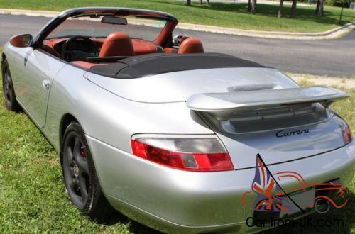 1999 Porsche 911 Porsche 911 Carrera C2 Cabriolet