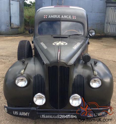1941 Packard Ambulance  Extremely rare  Military Hot rod Custom Historic  race
