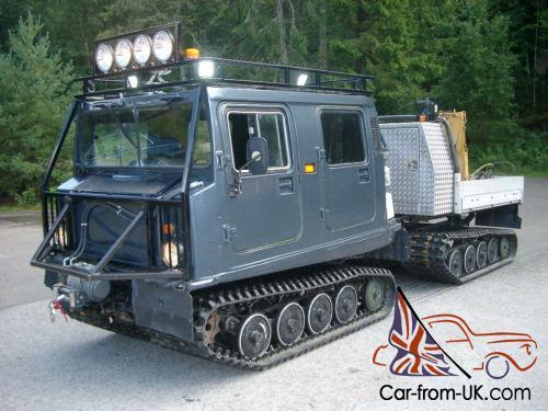 Hagglund BV206 3 0L Turbo Diesel and parts