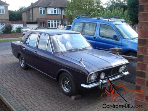 MK 2 Ford Cortina 1600E
