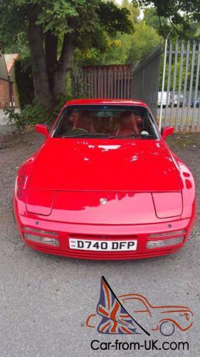 Porsche 944 Turbo In Guards Red With Red Leather Interior 951