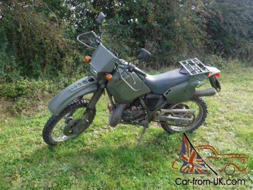 1994 125cc Cagiva Motorbike Ex French Military Army Motorcycle Not Mt350