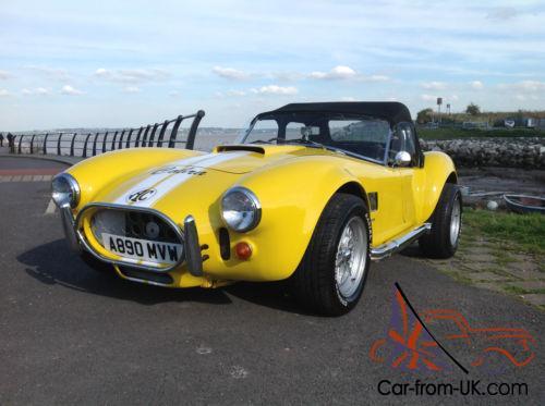 AC Cobra Pilgrim Sumo mk2 3 5 V8 3,000 miles from build, Crate Engine &  Gearbox
