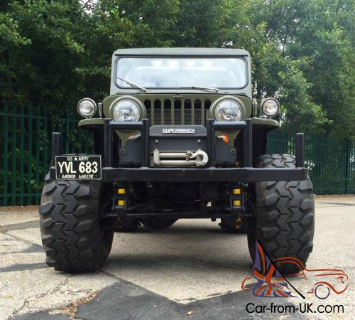 Willys Jeep 1948 American 4x4 Modified 1 Off Custom 302 5