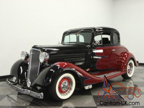 1934 Chevrolet 5 Window Coupe Master