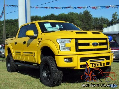 2016 Ford F 150 4wd Supercrew Tonka Limited Edition