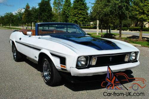 1973 Ford Mustang Convertible Top Notch 351 V8 Mach 1 Tribute