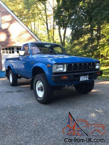 Toyota Pickup 4x4 >> 1982 Toyota Pickup Hilux 4x4 Hilux