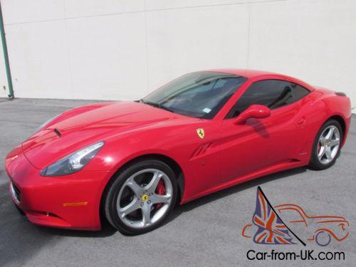 2010 Ferrari California Hardtop Convertible