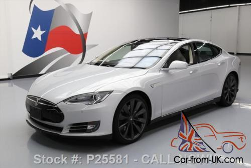 2013 Tesla Model S P85 PERFORMANCE TECH PANO NAV