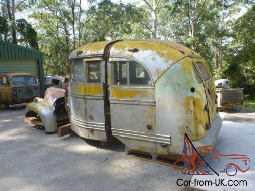 1946 Studebaker Short school bus  Very cool bus suit Ford Chevy F1 F100 rat  rod