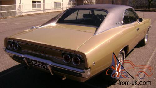 1968 Dodge Charger 383 4 Speed Excellent Condition