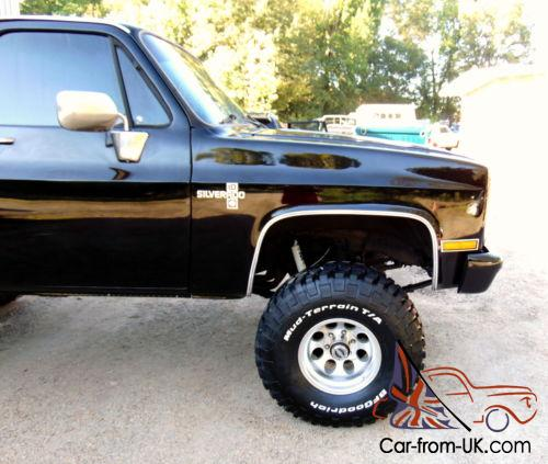 1985 chevy 4x4 truck gmc block chevrolet lifted frame silverado 1500 700r4 sierra k10 k1500 pickup reciepts ac 16k c10