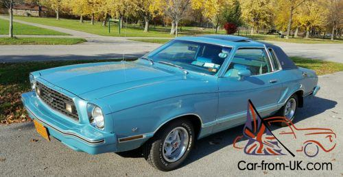 1978 Ford Mustang Ghia For Sale