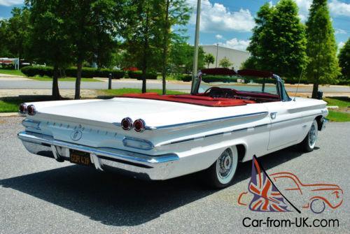 1960 Pontiac Bonneville Convertible Fully Restored California Car Rare