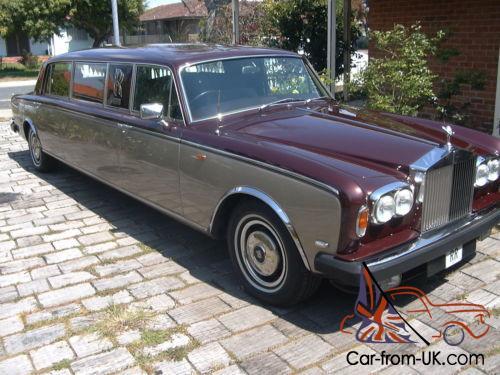 Rolls Royce Limo >> Rolls Royce Silver Shadow Stretch Limousine
