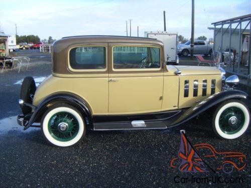 1932 Chevrolet 5 PASSENGER COUPE