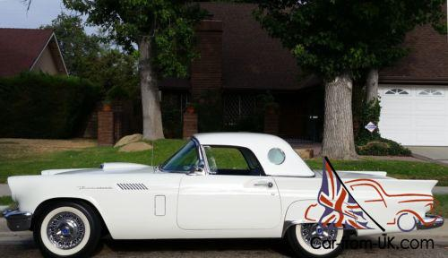 1957 Ford Thunderbird ***ORIGINAL BUILD SHEET*** AND HIGHLY OPTIONED