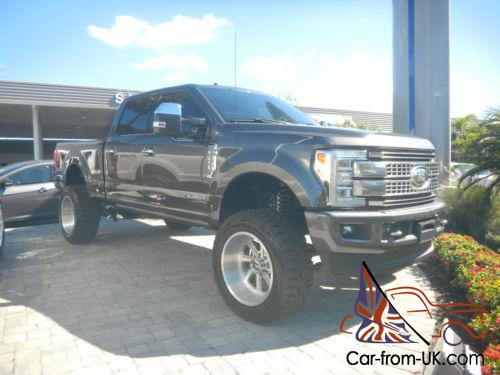 2017 Ford F 250 Platinum For Sale >> 2017 Ford F 250 Platinum F 250 Custom Truck