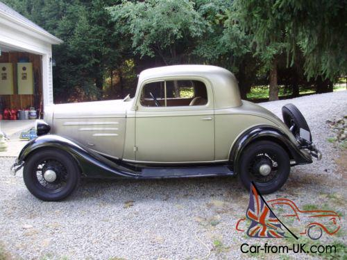 1934 Chevrolet Other DC 3 Window Coupe