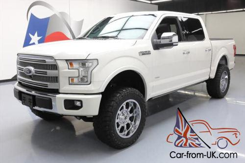 2015 Ford F 150 Lifted >> 2015 Ford F 150 Platinum Crew Ecoboost Lift Nav