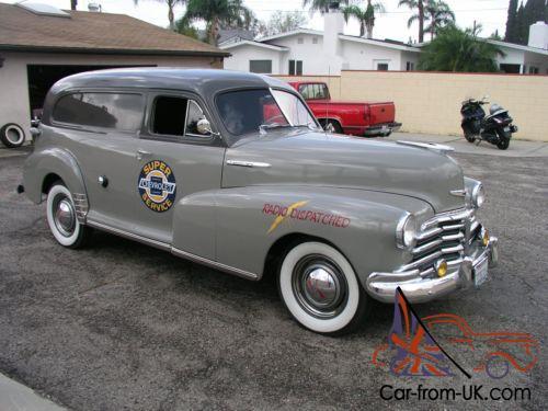 1948 Chevrolet Sedan Delivery Delivery